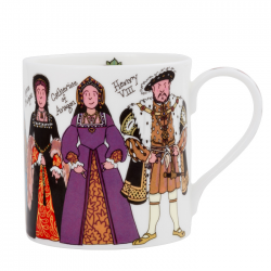 Henry VIII and Six Wives Mug