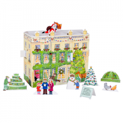 Highgrove House 3D Paper Advent Calendar
