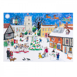 Christmas in the Village Advent Calendar