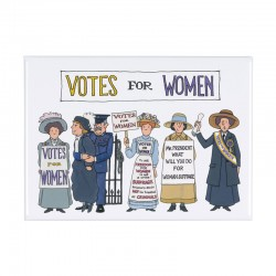 Suffragette Fridge Magnet